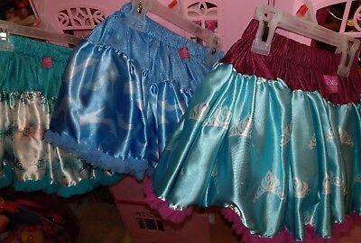 preowned  girls Disney princess tutu skirts choose one Cinderella Anna  2 left
