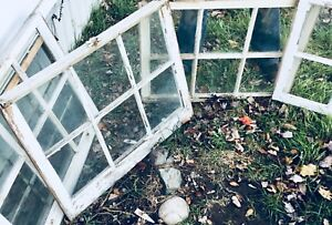 Assorted rustic style windows