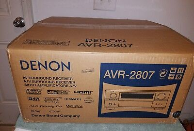 New Denon AVR 2807 7.1 Channel 140  Receiver