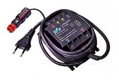Fritec Ladegerät BV11800 für Motorrad Gel-Batterie, Ladeerhaltungsgerät