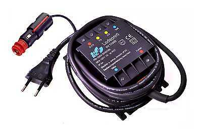 ladegerat fur motorrad batterie saito procharger compact 12v. Black Bedroom Furniture Sets. Home Design Ideas