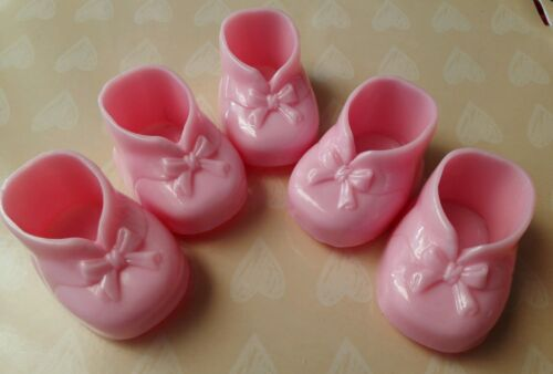 Baby Shower, Birthday, Baptism Favors or decorations 10pcs Girls fillable Shoes.