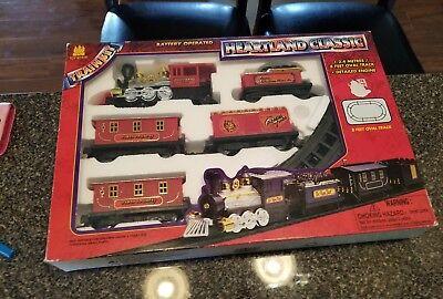 New Vtg Toy State Classic Express Heartland Train Locomotive Engine 1994 Rare