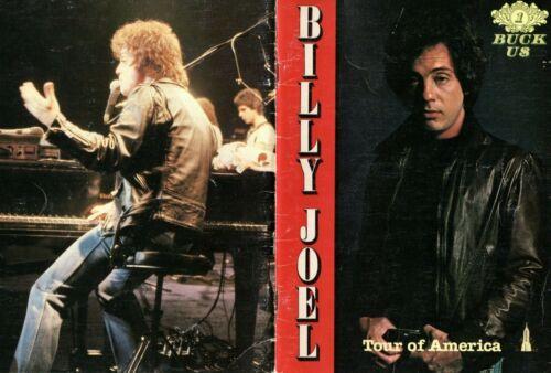 BILLY JOEL1979 TOUR OF AMERICA TOUR CONCERT PROGRAM BOOK-VERY GOOD 2 NEAR MINT