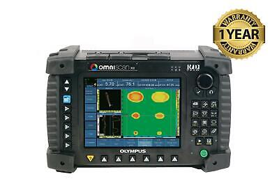 Olympus Panametrics Omniscan Mx 32128 Ultrasonic Phased Array Pa Flaw Detector