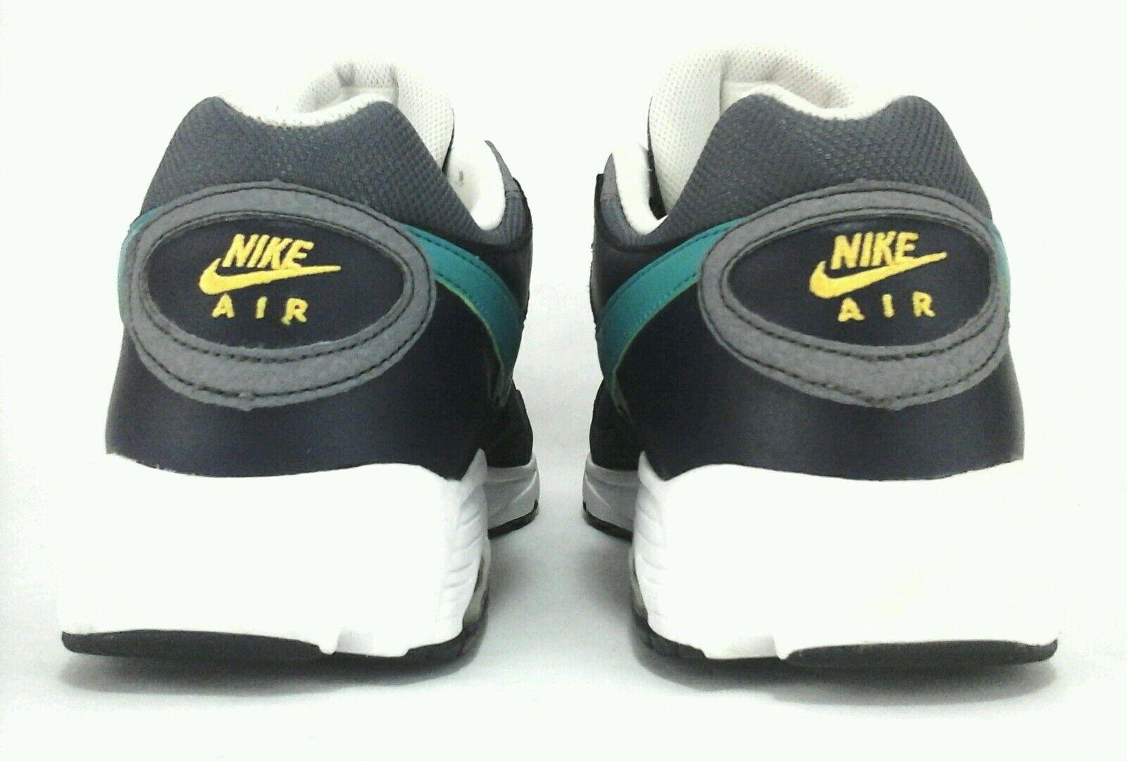 newest f73b5 d8467 NIKE AIR Max Sneakers Running Shoes Blue Gray Yellow Men s US 14 UK 13 EU  48.5