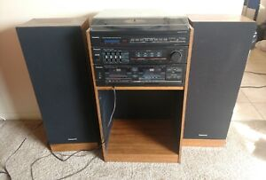 Vintage Panasonic SG-061 Stereo system turntable cassette receiver will ship