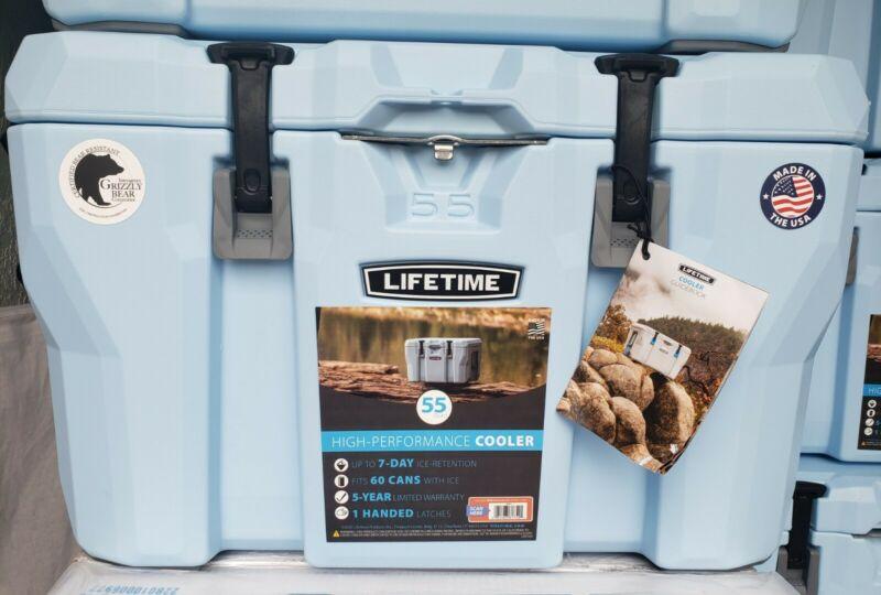 High Performance Cooler Lifetime 55 Quart Bear Proof Sports & Outdoors Camping