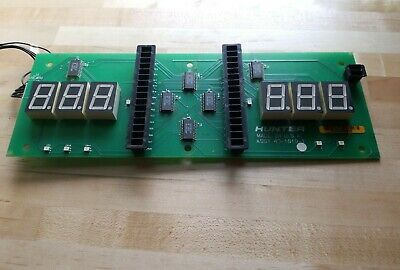 Hunter Engineering Balancing Machine Display Board Part 45-1019-1
