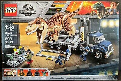 LEGO Jurassic World 75933 T. rex Transport - NEW!