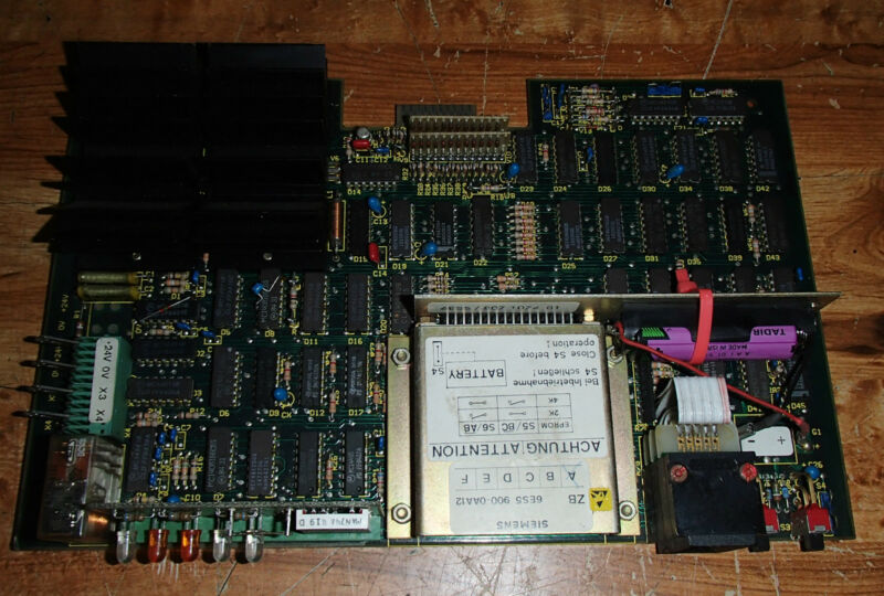 Siemens Circuit Board 3 NET 807 1070 001 BL.2 _ 3NET8071070001BL2 _ PCB