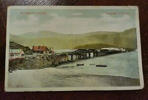BARMOUTH BRIDGE POSTCARD