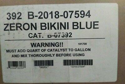 (1  Olympic Zeron Epoxy Pool Coating Gallon - Bikini Blue  OEM NEW)