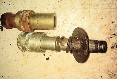 Farmall H Tractor Hydraulic Couplers Belly Pump Pipe Fitting Parts Pioneer