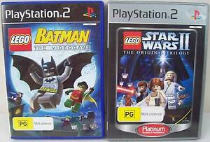Playstation 2 PS2 Game Pack - Lego Star Wars 2 plus Lego Batman Blakeview Playford Area Preview