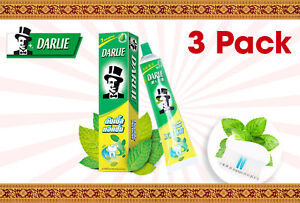 Darlie Double Action Mint and Peppermint Toothpaste - 3 Pack