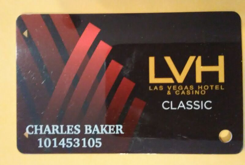 LAS VEGAS HILTON CASINO LAS VEGAS, NEVADA LOGO SLOT CARD GREAT FOR COLLECTION!