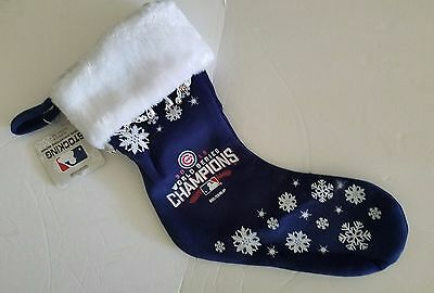 Chicago Cubs Official 2016 World Series Champions Christmas Stocking Chicago Cubs Christmas Stocking