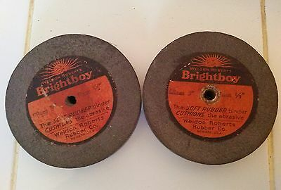 Weldon Roberts Bright Boy Dia 3 Face 12 Grinding Soft Rubber Binder Cushions