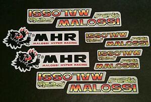 Malossi Aufkleber Sticker Tuning Bike Aerox Scooter Racing Aprilia Roller Helm
