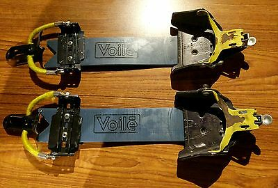 Asolo XC-T 3-pin Telemark and Backcountry Ski Bindings w/Voile