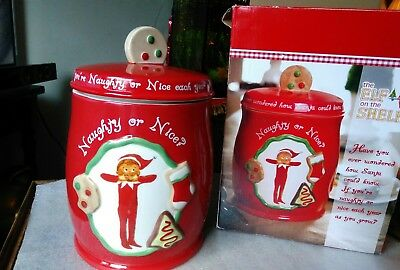 The Elf on the Shelf Christmas  Cookie Jar  Barnes & Noble