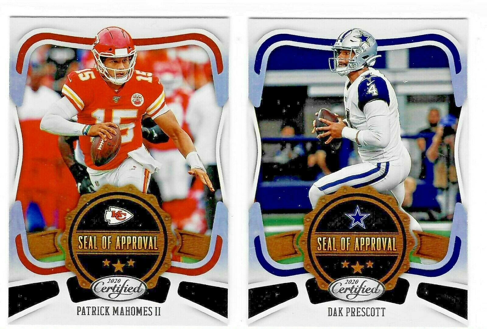 2020 Panini Certified Football SEAL OF APPROVAL Insert - Com