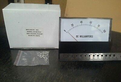 Panel Meter 0 - 100 Ma Dc Amp Meter. 130 X 100mm