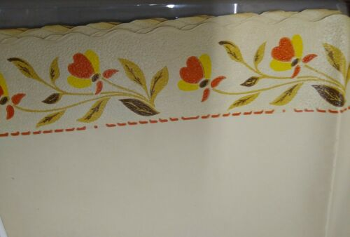 1945 Autumn Leaf Jewel Tea Shelf Paper Hall China 105 Inches - $39.99