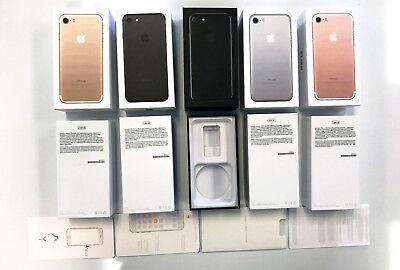 iPHONE 7, 7 PLUS, 8, 8 PLUS X EMPTY BOX & ACCESSORIES OPTION
