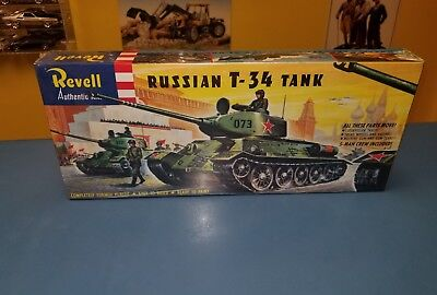REVELL  RUSSIAN T-34 TANK  H-538: 129   NEW