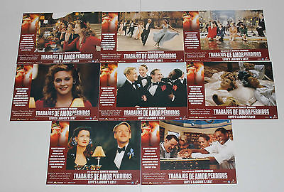 Alicia Silverstone Love`s Labour`s Lost lobby card set 8 Kenneth Branagh