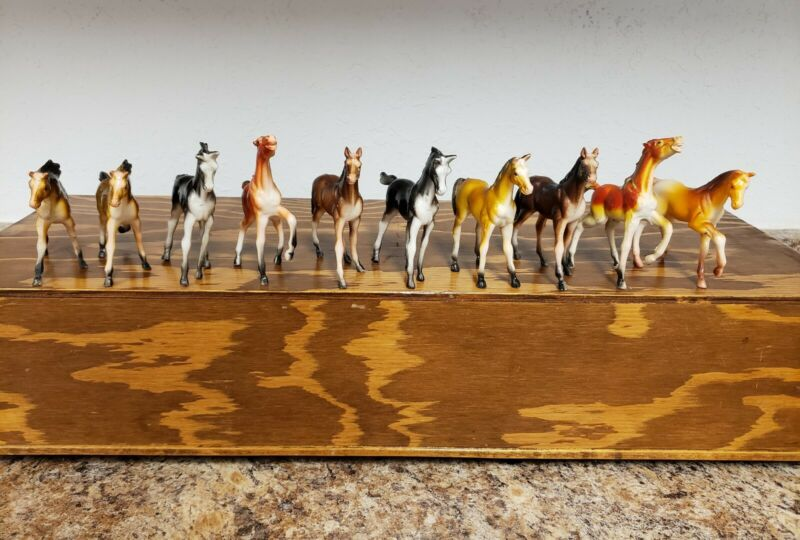 Imperial Toy Horse Collection from 1970