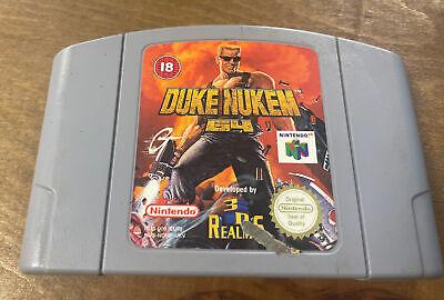 Duke Nukem N64 Nintendo 64