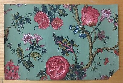 Beautiful 19th C. Zuber French  Exotic  Wallpaper (2148 )