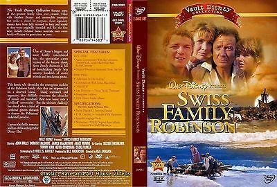 Swiss Family Robinson ~ New DVD 2-Discs ~ John Mills, Dorothy McGuire (1960)