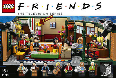 LEGO IDEAS 21319 Central Perk (Friends TV) ~ Brand New in Factory Sealed Box