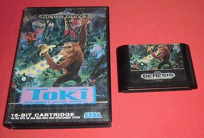 Megadrive 1 & 2 Toki Going Ape Spit [PAL] 1 2 Sega *JRF*