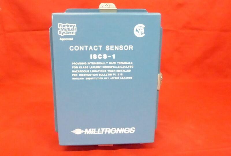 MILLTRONICS ISCS-1 *NEW* CONTACT CONTROL ALARM SENSOR (2C4)