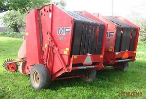 Massey Ferguson MF1450 Round Hay Baler x 2 (Price negotiable) Beeac Colac-Otway Area Preview