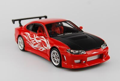 WELLY NISSAN S-15 200SX SILVIA RED 1:24 DIE CAST METAL MODEL NEW IN BOX 18Cm for sale  Poland