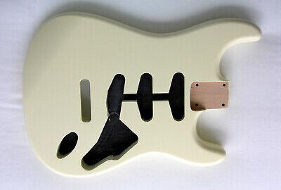 STRAT BODY / Alder / Vintage White / Stratocaster- Fits Fender