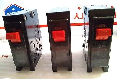 Lot Of 3  Bryant Br120 1 Pole 20 Amp 120240v Type Br Circuit Breakers