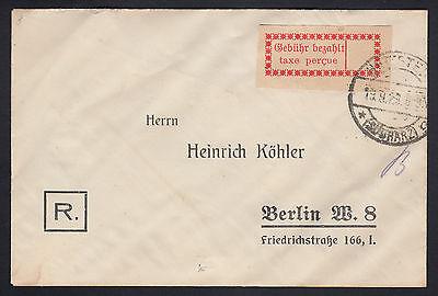Deutsche Lokalausgabe Halle (Saale) Mi.Nr. 1 I c gestempelt (6806)