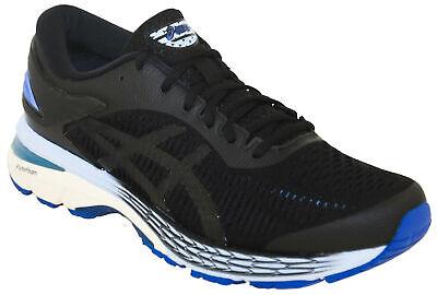 Asics Women's GEL-Kayano 25 Running Shoe Style 001 Black/Asics Blue