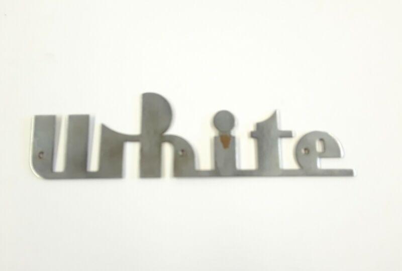 WHITE BUS EMBLEM LOGO