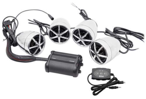 Boss Audio MC650B Speaker & Amp System 1200W BT For Motorcyc