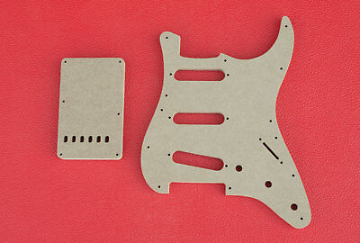 Stratocaster Pickguard Router Template 8 and 11 Hole and Back Cover CNC 1/2
