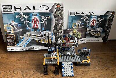 Halo Mega Bloks 97262 UNSC Infinity Armor Bay New
