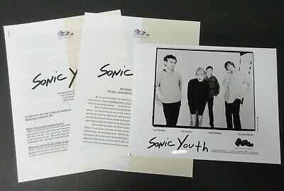 SONIC YOUTH Experimental Jet Set Trash And No Star 1994 US Promo PRESS